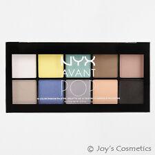 NYX Avant Pop 10 Colour Shadow Palette Apsp02