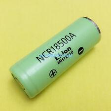Panasonic NCR18500A 2040mAh 3.6V 18500 Li-ion rechargeable battery for LED light