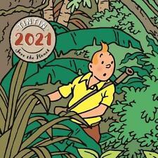 TINTIN 2021 WALL CALENDAR - Save The Planet - 30 x 30cm