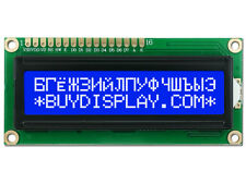 3.3V Blue 16x2 Russian/Cyrillic Character LCD Display Module w/Tutorial,HD44780