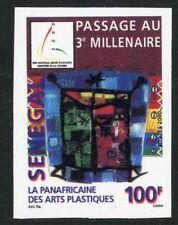 TIMBRE AFRIQUE SENEGAL / NEUF NON DENTELE N° 1624 ** ART PLASTIQUE