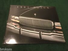 1991 BUICK 50 PAGE DEALER SALES BROCHURE FULL LINE PARK AVE REGAL ...(BOX 560)