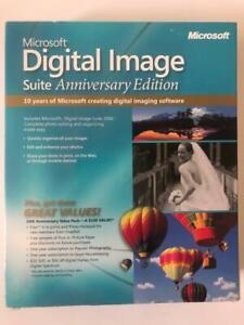 Microsoft Digital Image Suite Anniversary Edition Windows 98 ME 2000 XP Vista