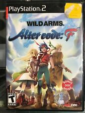 Wild Arms: Alter Code F (Sony PlayStation 2, 2005) Tested/Works CIB w/manual