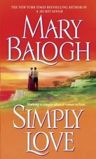 Simply Love,Simply Quartet Book 2 by Mary Balogh paperback from non-smoking home