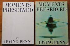 SIGNED IRVING PENN to OSCAR WINNER PLAYWRIGHT JOHN BOLT - 1960 MOMENTS PRESERVED