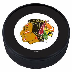 Chicago Blackhawks 1960 Vintage Logo 3D Textured NHL Souvenir Hockey Puck