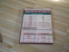 ARCHIVIO STORICO - CONSORZIO AUTONOMO DEL PORTO DI GENOVA - VOLUME PRIMO