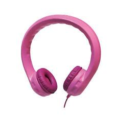 LogiLink Kinder Kopfhörer Kids Kindersicher gepolstert extrem biegsam 85db rosa
