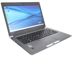 Toshiba Portege Z30t-C 8GB 256GB SSD Gen 6 i5 FHD Touchscreen Laptop HDMI 4G LTE