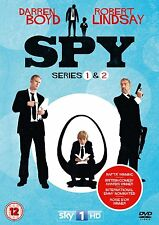 SPY 1-2 BBC Series R2 PAL DVDs only!! Darren Boyd