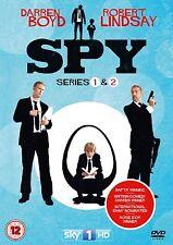 SPY 1-2 BBC Series R2 PAL DVDs only!! Darren Boyd