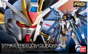 BANDAI RG 1/144 ZGMF-X20A Strike Freedom Gundam Model Kit #14 SEED AU STOCK