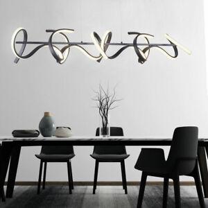 LED Luminaire Suspendu Swinging la Vie Chambre Éclairage de Plafond Variateur