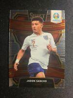F48 JADON SANCHO 2020 Select UEFA EURO Terrace Rookie Base Card Soccer England