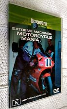 EXTREME MACHINES: MOTORCYCLE MANIA – DVD, R-4, LIKE NEW, FREE POST IN AUSTRALIA