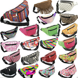 Bum Bag Fanny Pack Travel Waist Festival Money Belt Wallet Holiday Leather Pouch