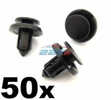 50x 8mm Plastic Bumper, Radiator & Grille Clips for Toyota Cars inc Yaris, Aygo