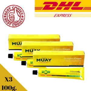 X3 Namman Muay Thai Boxing Oil Linment For Muscle Pain Relief Massage Cream 100g