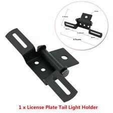 Aluminum Motorcycle License Plate Holder Tail/Rear Light Bracket Mount Durable
