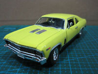 Yellow 1:32 Scale 1969 CHEVROLET NOVA SS Diecast Model Car By Signature