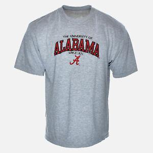 Vintage Alabama Crimson Tide University College Embroidered NCAA Tee Shirt - XL