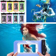 Impermeable Bajo El Agua SUMERGIBLE Funda Bolsa Bolso Seca para Teléfono MOVIL