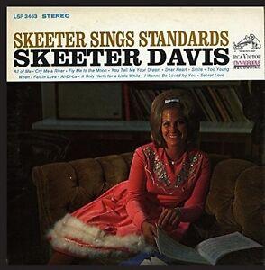 Skeeter Davis - Skeeter Sings Standards [New CD]