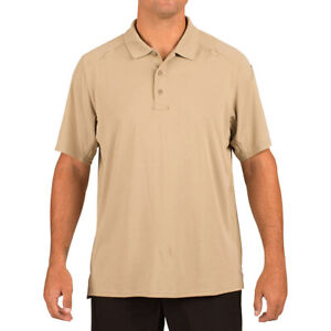 5.11 Professional 100% Cotton Short Sleeve Shirts Polo Shirts Casual Tactical