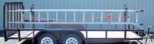 Pack'em Open Trailer Side Rail Ladder Rack - PK-28WL/BMH