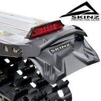 "Skinz Protective Gear Short Mountain Flex Snowflap Black 16"" x 10"" - SF400-BK"