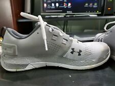 Under Armour Mens Running Shoe Charged Size 8 Gray