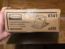 Rubbermaid Waxed Paper Sanitary Disposal Liners Brown 250 Pack FG6141000000 NEW