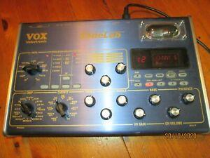 Effekt VOX Tonelab mit ECC 83 Röhre- Super Sound ! Mit Orig. Nt.Volle Funktion !