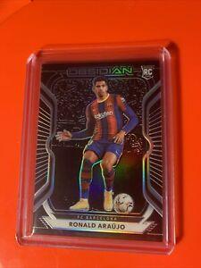 Ronald Araujo 089/195 Barcelona Rookie RC Obsidian 2021