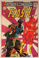 """The Flash #181 (DC 1968) VF- """"The Attack of the Samuroids!"""" HIGH GRADE!"""