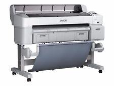 Epson Surecolor T5200 A0 Wide Format Printer +PostScript for Adobe & A0 trimmer.