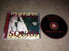 REAGAN SQUAD - GOLDEN MILE (1998 A-F Records) RARE PUNK ROCK CD anti-flag unseen