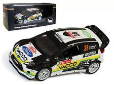 IXO RAM501 Ford Fiesta RS WRC Monte Carlo Rally 2012 - J Maurin 1/43 Scale