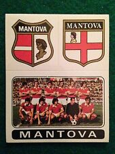 CALCIATORI 1972-73 n 397 MANTOVA SCUDETTO SQUADRA Figurina Sticker Panini (NEW)