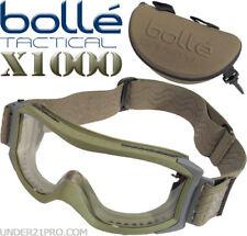 Masque Bollé Tactical X1000 couleur Vert Kaki Armée Militaire airsoft X1KSTDi
