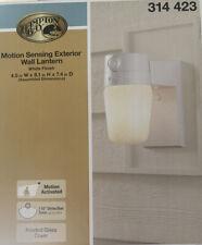 HAMPTON BAY 110° White Motion-Sensing Outdoor Security Light