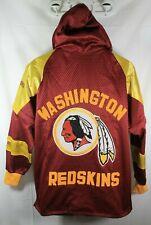 New listing Vtg Womens Jersey & Satin Washington Redskins Jacket Hip-Hop Stitched Large
