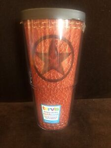 """Large Rare Discontinued Texas Star Tervis 8"""""""