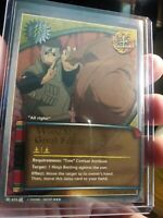 Naruto CCG Wood Style: Great Forest Jutsu #633 Super Rare FOIL