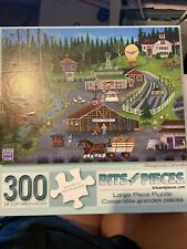 """BB Dungeness Lavender"""" 300-Piece Jigsaw Puzzle  country forest farm Large Piece"""