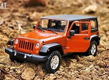 Maisto 1:24 Jeep Wrangler Unlimited Die cast Model Car New in Box 3 Colors