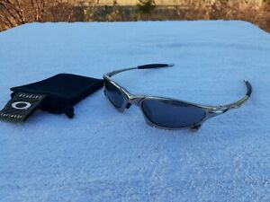 Oakley X Metal Penny Polished Sunglasses - Black Iridium - ALMOST MINT