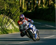 Josh Brookes 10 x 8 Isle of Man TT 2014 Waterworks Signed Picture.