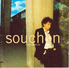CD audio.../...ALAIN SOUCHON.../....C'EST DEJA CA....